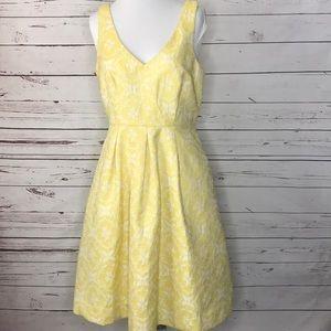 Anthropologie Moulinette Soeurs Yellow Dress  6